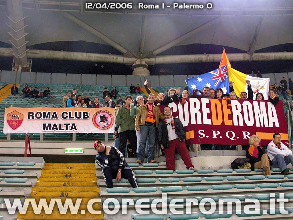 Gemellaggio con il Roma club Malta