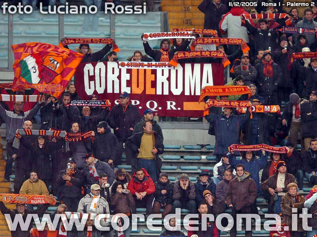 Roma-Palermo anno 2005