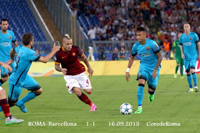 AS Roma-Barcellona