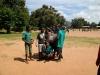 Malawi, Balaka: consegna dei pacchi CdR (febbraio 2011)