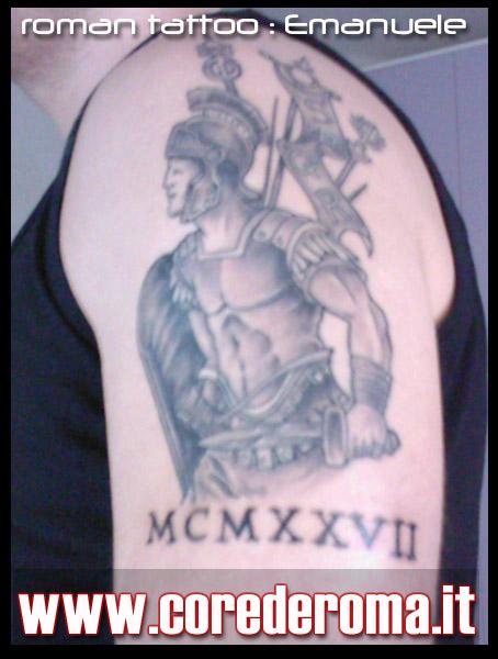 Roman tattoo: Il legionario di Emanuele