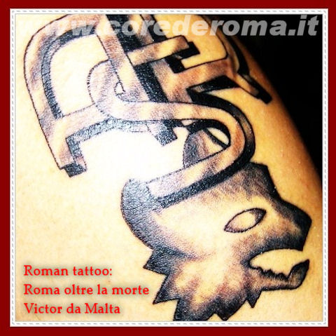 Piccoli romanisti & Roman tattoo. di Rudy.