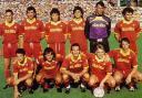 Una formazione dell'AS Roma 1991-92