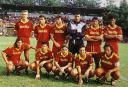 Una formazione dell'AS Roma 1992-93