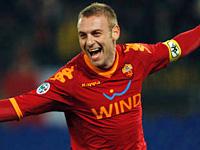 Coppa Italia 2009-10: De Rossi porta la Roma in semifinale