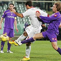 Vucinic stende la Fiorentina