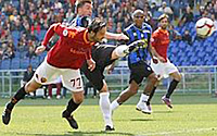 Roma-Atalanta: Cassetti gol