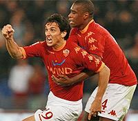 Roma-Lecce: Burdisso segna il primo gol