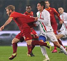 Juve-Roma: la prima di Aquilani contro la Roma