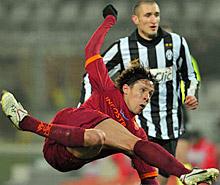 Tim Cup, Juve-Roma: Taddei chiude la partita