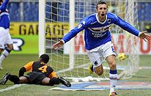 Samp-Roma: dopo il primo, Juan regala anche il secondo gol