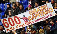 Roma-Parma: 600 partite per Totti