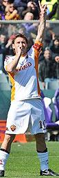 Fiorentina-Roma: Totti supera quota 200 gol in serie A