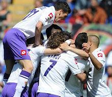 Roma-Fiorentina: esulta l'unica squadra di calcio che si è vista in campo