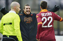 Siena-Roma: non c'è Osvaldo, ci pensa Destro (e Perrotta)