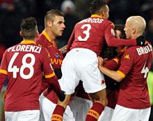 Roma-Fiorentina: bella prova del gruppo