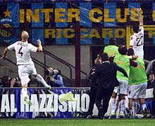 TIM Cup, Inter-Roma: esultanza a fine partita
