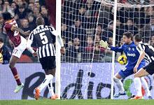 TIM cup, Roma-Juventus: il gol di Gervinho