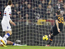 TIM cup, Roma-Samp: Torosidis in gol