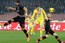 Coppa Italia, Napoli-Roma: Callejon segna il primo gol
