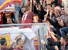 Roma-Parma: segna anche il vecchio, grande Rodrigo Taddei