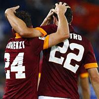 Roma-Verona: i goleador