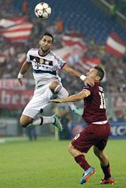 Champions, Roma-Bayern: duello Totti-Benatia