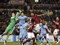 Roma-Manchester City: risultato bigiardo, ma Roma eliminata...