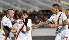Fiorentina-Roma: Ljajic non esulta per il gol da ex