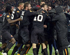 Feyenoord-Roma: passa la Roma