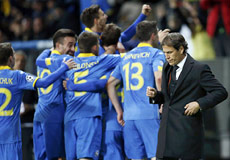 Champions League, Bate-Roma: 1° tempo catastrofico