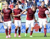 Roma-Sassuolo: unica gioia della giornata il 300° gol di Totti