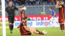 Sampdoria-Roma, beffa: la Roma domina, 3 punti alla Samp