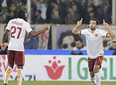 Fiorentina-Roma: vittoria e primato in classifica