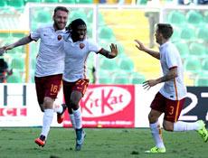 Palermo-Roma: tre punti contro un Palermo depresso
