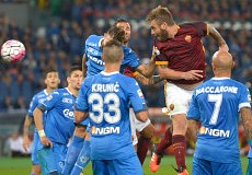 Roma-Empoli: sblocca Pjanic, DDR festeggia 500 partite