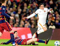 Barcellona-Roma: ennesima imbarcata formato Champions