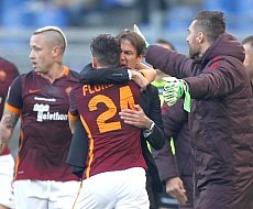 Roma-Genoa: Florenzi salva la panchina di Garcia...