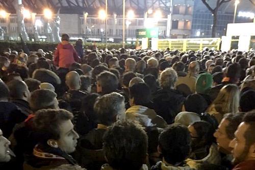 Champions, Roma-Real Madrid: disorganizzazione o volevano che qualcuno si dacesse male?