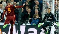 Real Madrid-Roma: la Roma si divora gol su gol e viene punita