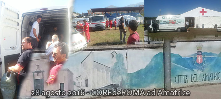 CopertinaCdR: CdR ad Amatrice
