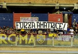 Cagliari-Roma: i tifosi, l'unica cosa bella della Roma stasera