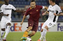 Roma-Astra: 3 assist di Totti su 4 gol...