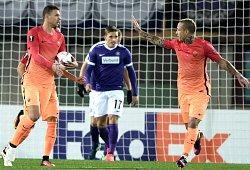 Austria Vienna-Roma: 4 fischi e via...