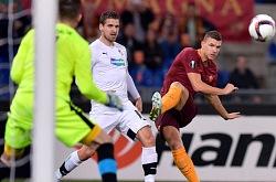 Europa League, Roma-Viktoria: supe Dzeko!
