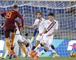 Roma-Torino: Dzeko scardina la difesa del Toro