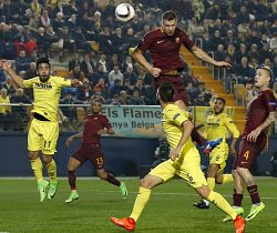Europa League, Villarreal-Roma: apre Emerson e chiude super Dzeko!