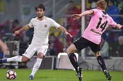 Palermo-Roma: Grenier titolare... Ottima la sua partita!