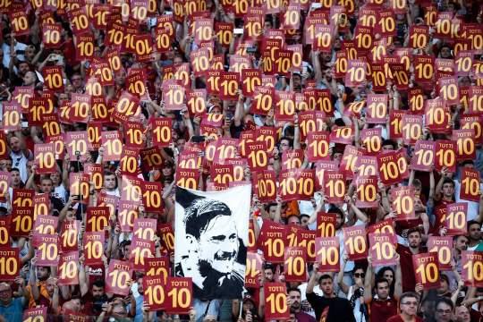 Roma-Genoa: l'addio di Francesco Totti