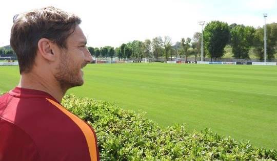 Totti: domenica 28 maggio 2017 l'ultima volta in cui potrò indossare la maglia della Roma